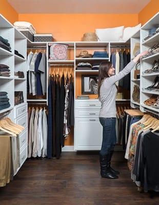 Orange Closet