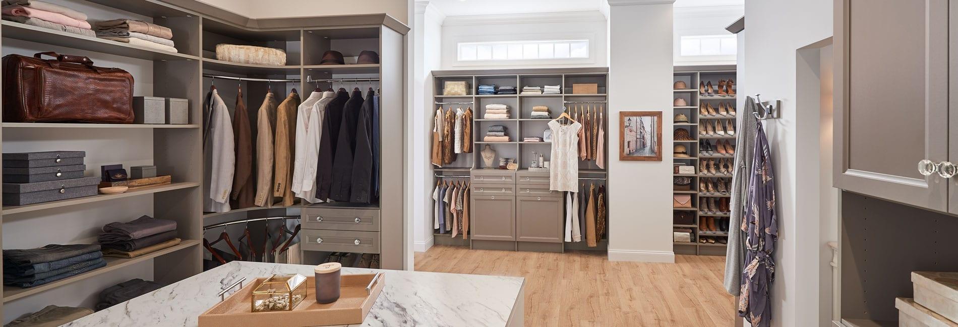 Plentiful Storage Shelves